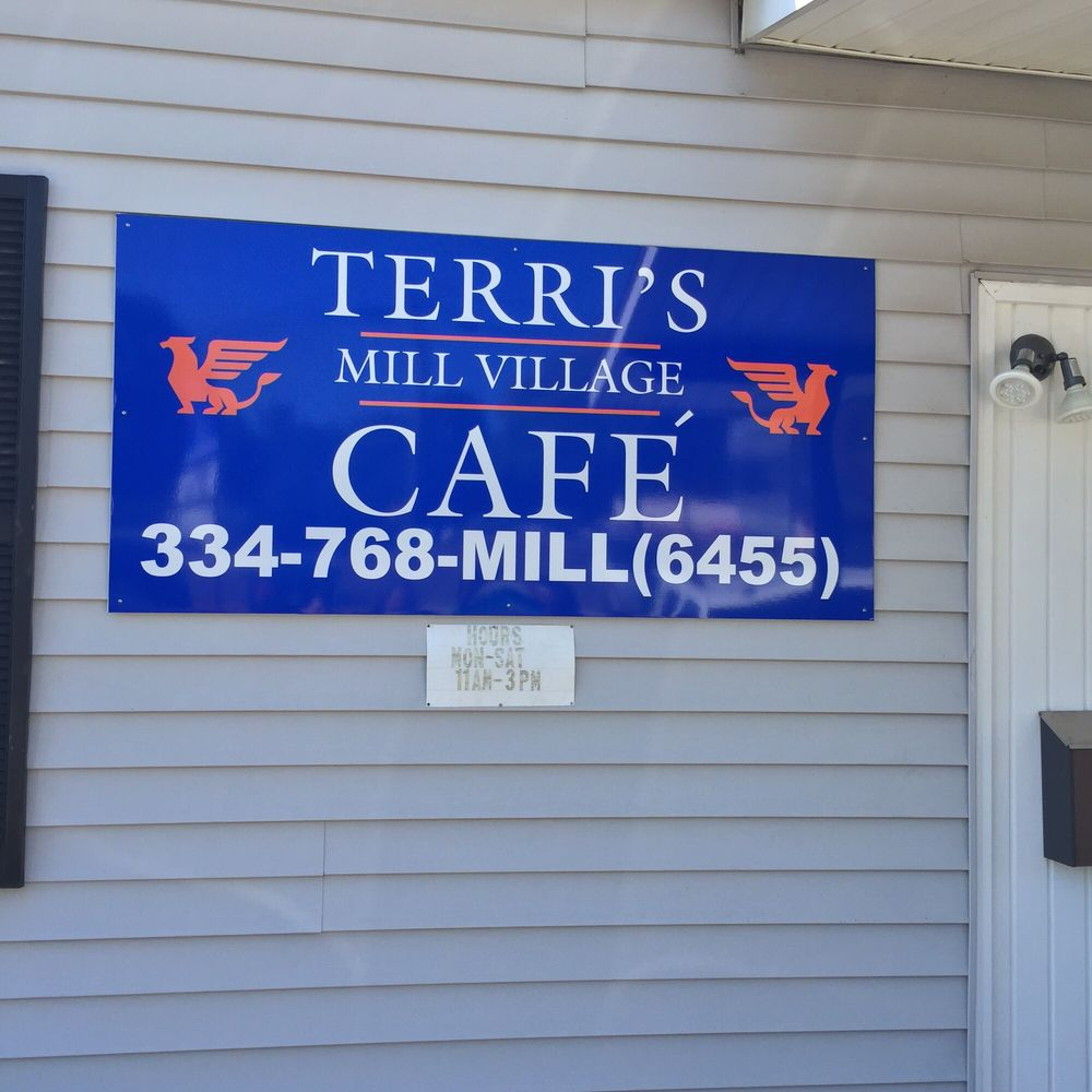 Terri's Mill Village Cafe: 2001 32nd St, Valley, AL