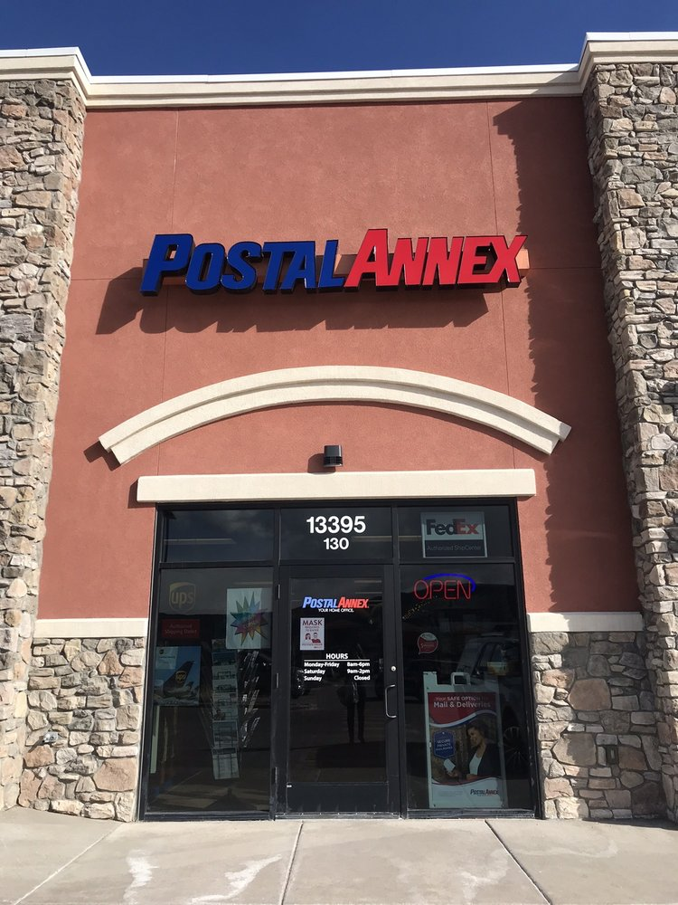 PostalAnnex: 13395 Voyager Pkwy, Colorado Springs, CO