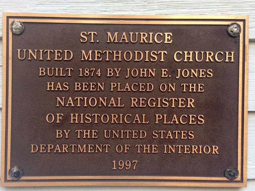 St. Maurice United Methodist Church: Hwy 477, Saint Maurice, LA