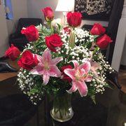 Photo Of Schneider S Florist Springfield Oh United States Premium Dozen With Red