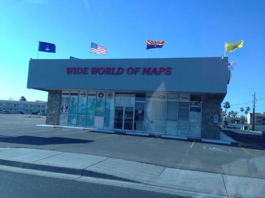Wide World Maps More E Indian School Rd Phoenix AZ - Wide world of maps