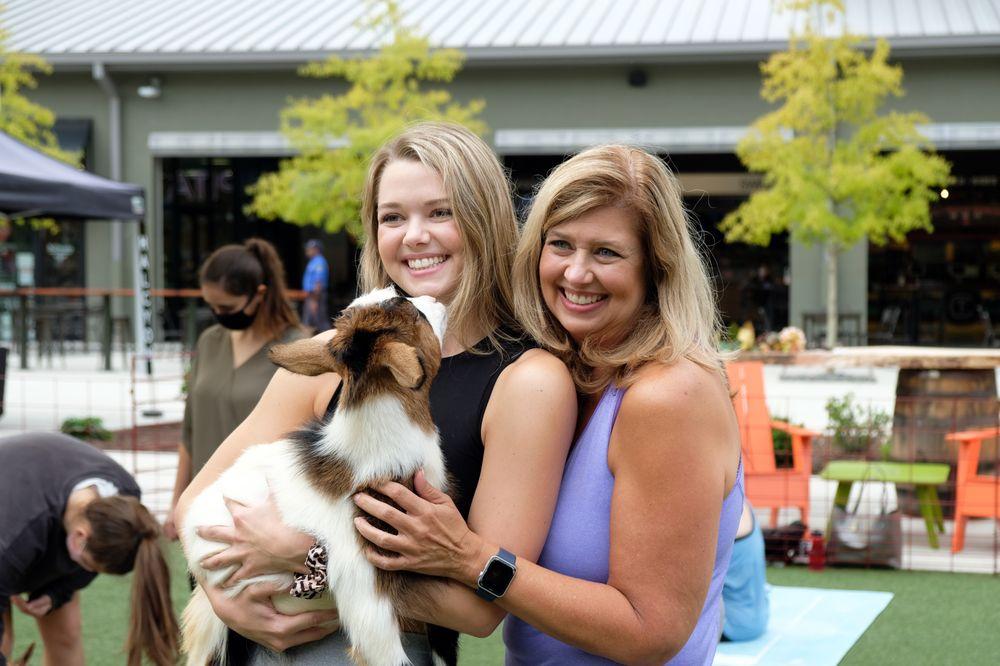 Goga Goat Yoga: 325 5 Acre Rd, Alpharetta, GA
