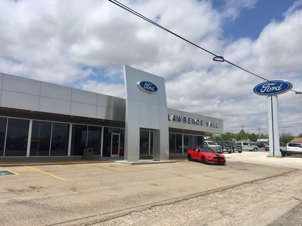Lawrence Hall Ford: 2016 Commercial Ave, Anson, TX