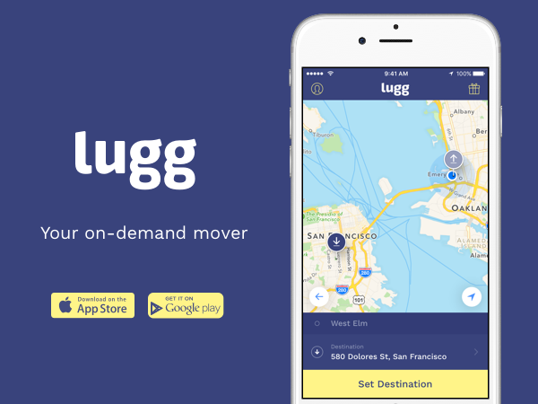 lugg app promo