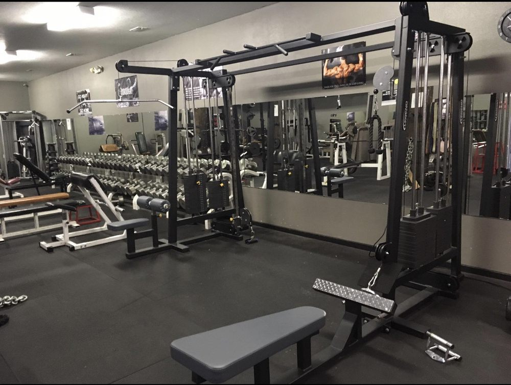 Iron House Gym: 408 S Jefferson St, Elk City, OK