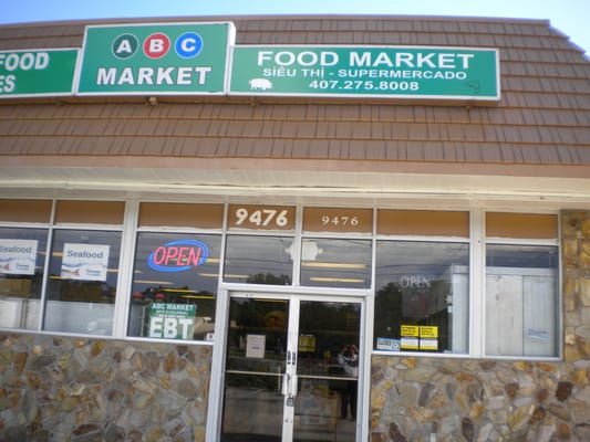 Abc market closed grocery 9476 e colonial dr east for Fish market orlando fl