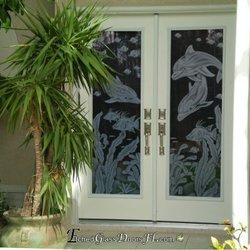 Merveilleux Etched Glass Doors FL   Door Sales/Installation   6934 ...