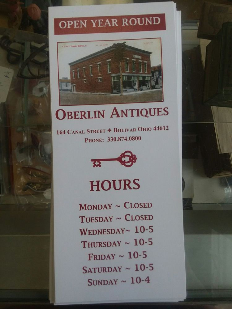 Photo of Oberlin Antiques: Bolivar, OH