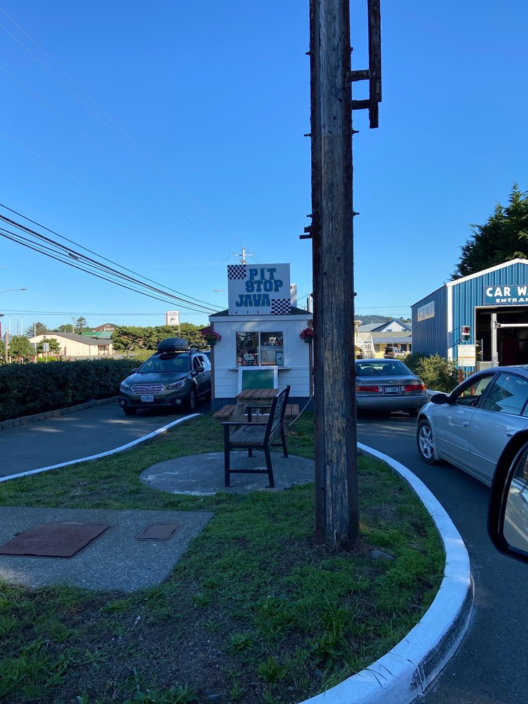 Pit Stop Java: 29359 Ellensburg Ave, Gold Beach, OR