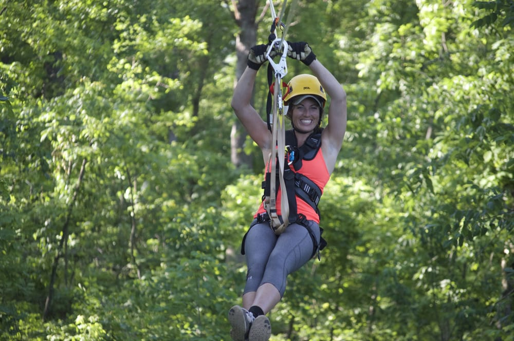 Long Hollow Canopy Tour: 3247 W Long Hollow Rd, Elizabeth, IL