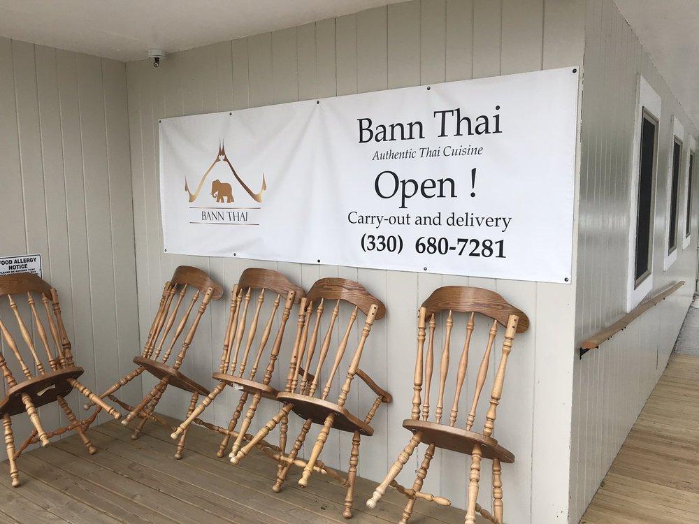 Bann Thai: 20430 Harrisburg Westville Rd, Alliance, OH