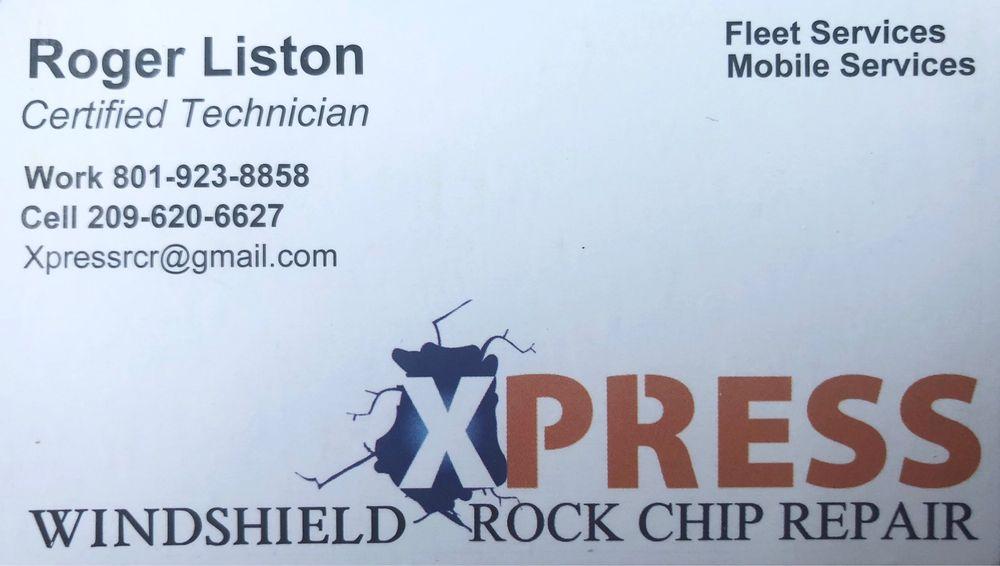 Xpress Rock Chip Repair: Clinton, UT
