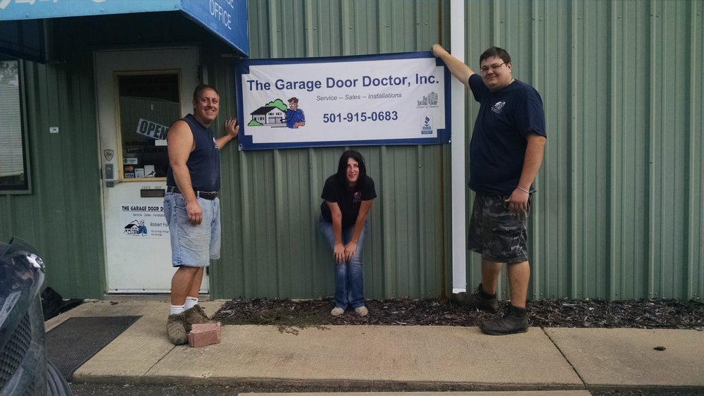 The Garage Door Doctor: 8223 Park Ave, Hot Springs Village, AR