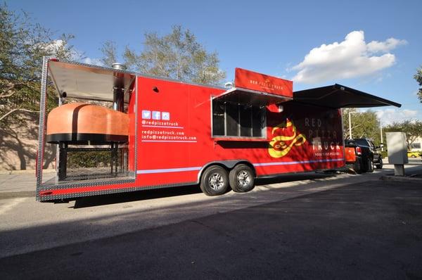 Red Pizza Truck - Pizza - 13720 W Hwy 326, Ocala, FL ...