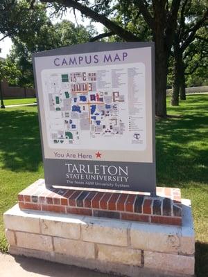 Tarleton State Campus Map.Tarleton State University 1333 W Washington St Stephenville Tx
