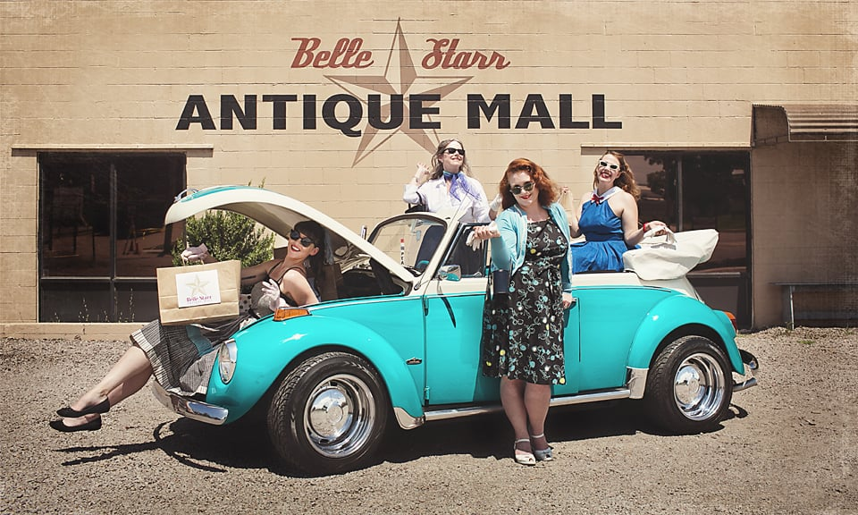 Belle Starr Antique Mall: 410 N B St, Fort Smith, AR