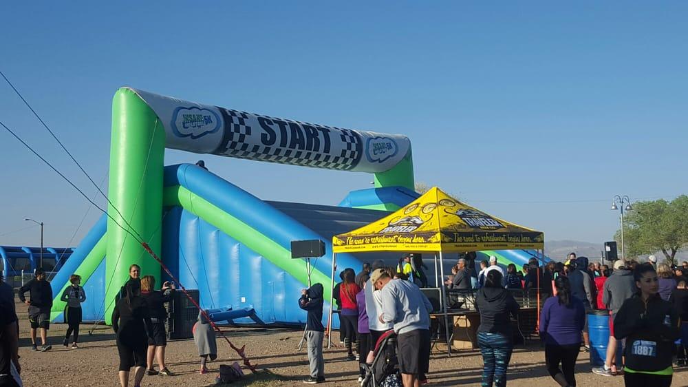 El Paso Insane Inflatable 5K: 2800 Hwy 28, Anthony, NM