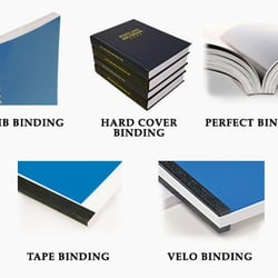 Print binding options