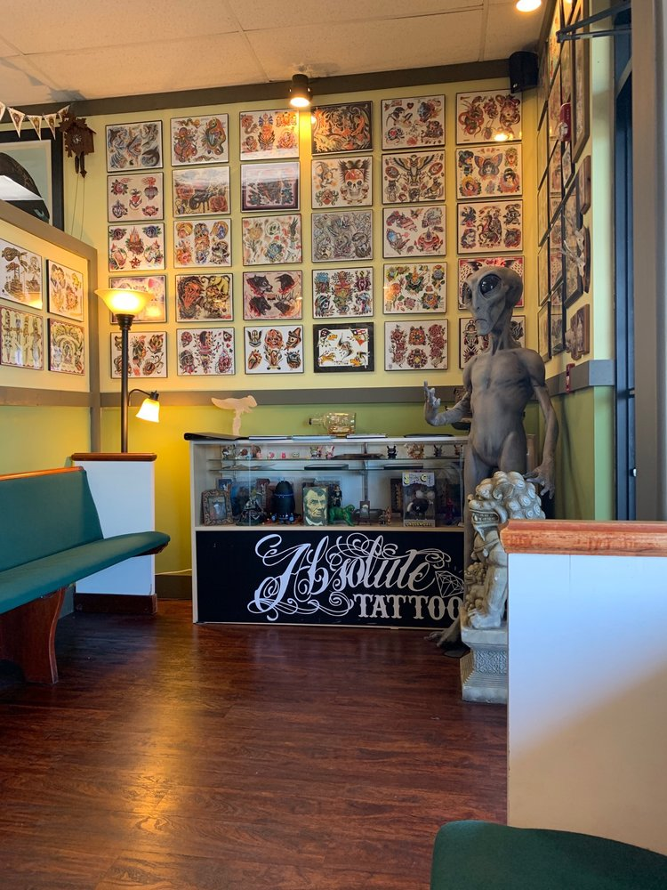 Absolute Tattoo: 9510 University City Blvd, Charlotte, NC
