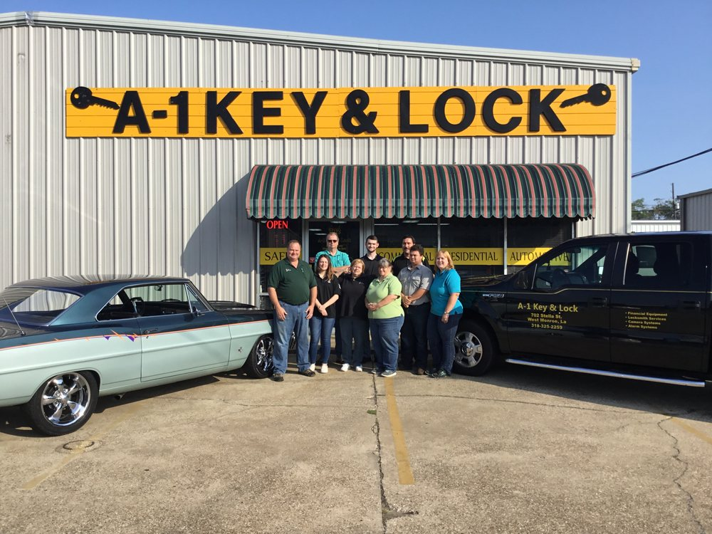 A-1 Key & Lock: 702 Stella St, West Monroe, LA