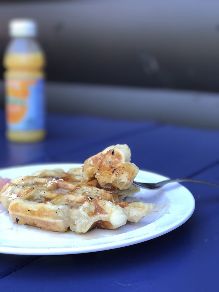 Iron Waffle: 8785 Interlaken Rd, Lakeshore, MN