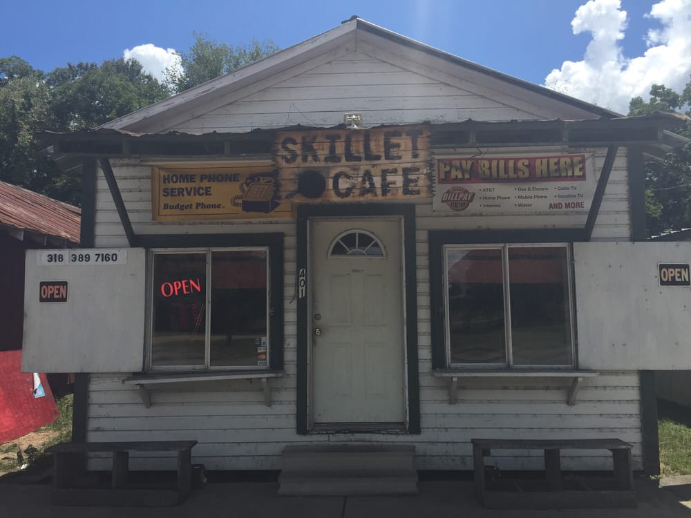 The Skilet Cafe of Sicily Island: 401 Newman St, Sicily Island, LA