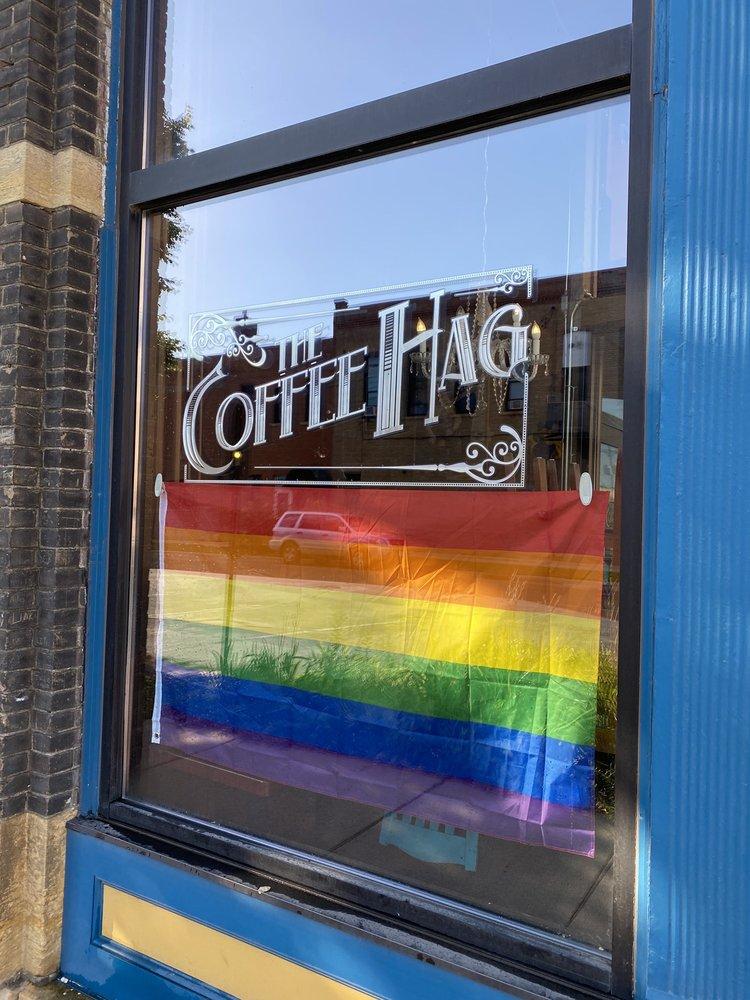 Coffee Hag: 329 N Riverfront Dr, Mankato, MN
