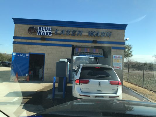 Blue wave laser wash car wash 1045 hickory creek blvd denton photo of blue wave laser wash denton tx united states solutioingenieria Images