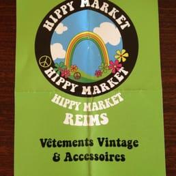 Hippy market friperies v tements vintage et d p ts vente 4 6 passage tal - Depot vente meubles reims ...