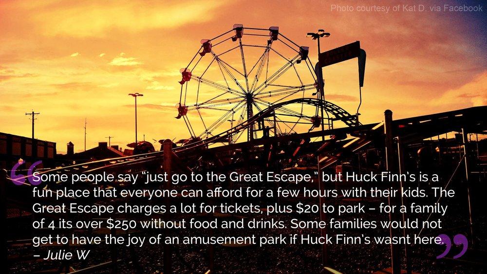 Huck Finn's Playland: 25 Erie Blvd, Albany, NY