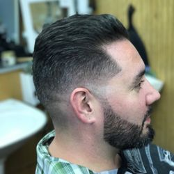 Barber shop haircuts sexual turn on