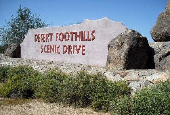 Desert Foothills Scenic Drive: N Scottsdale Rd, Scottsdale, AZ