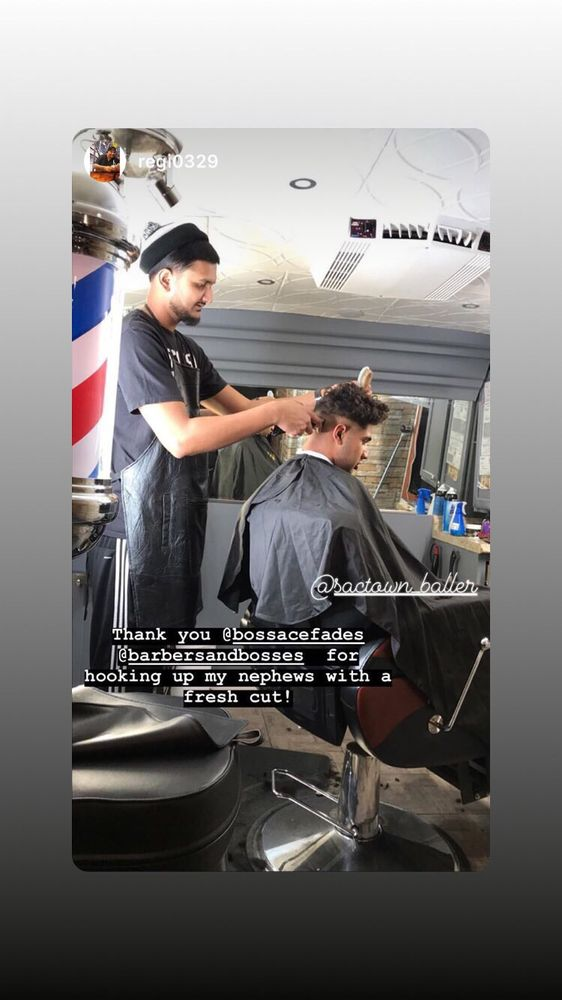 Barbers & Bosses: 10426 Franklin Rd, Elk Grove, CA