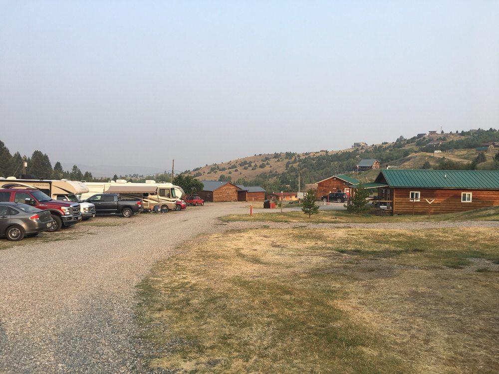 Rambling Moose Campground: 1302 East Warren St, Virginia City, MT