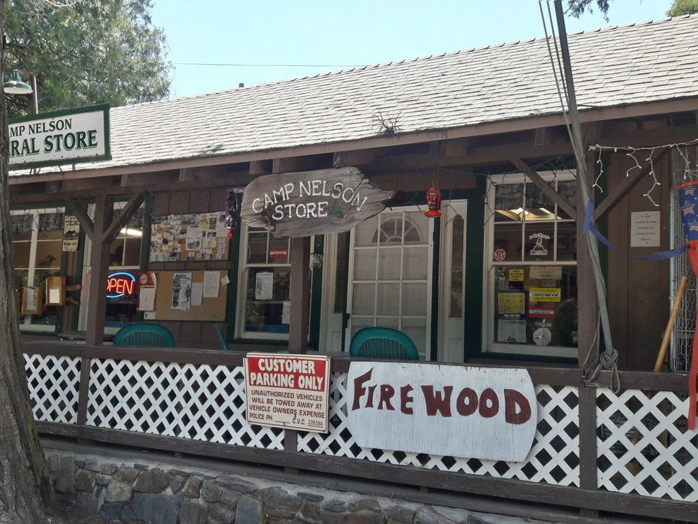 Camp Nelson General Store: 1720 Nelson Dr, Springville, CA
