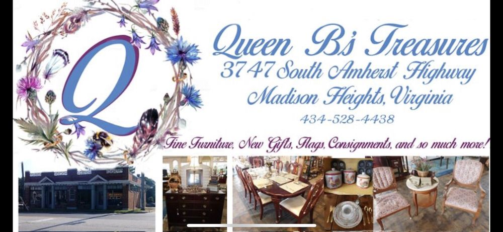 Queen B's Treasures & Just-A-Dufliky Consignments: 3747 S Amherst Hwy, Madison Heights, VA