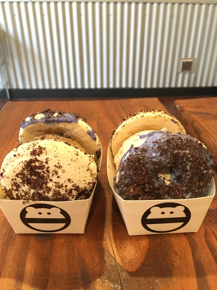 Photo Of Snow Monster Long Beach Ca United States Oreo Glazed Donut