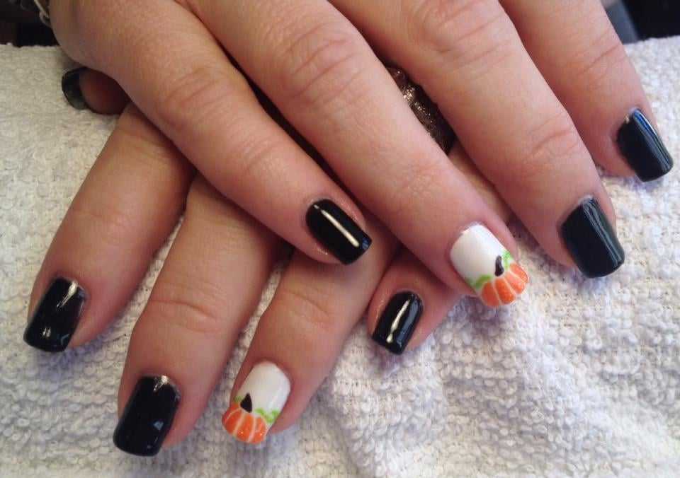 Pumpkin Harvest Nails - Yelp