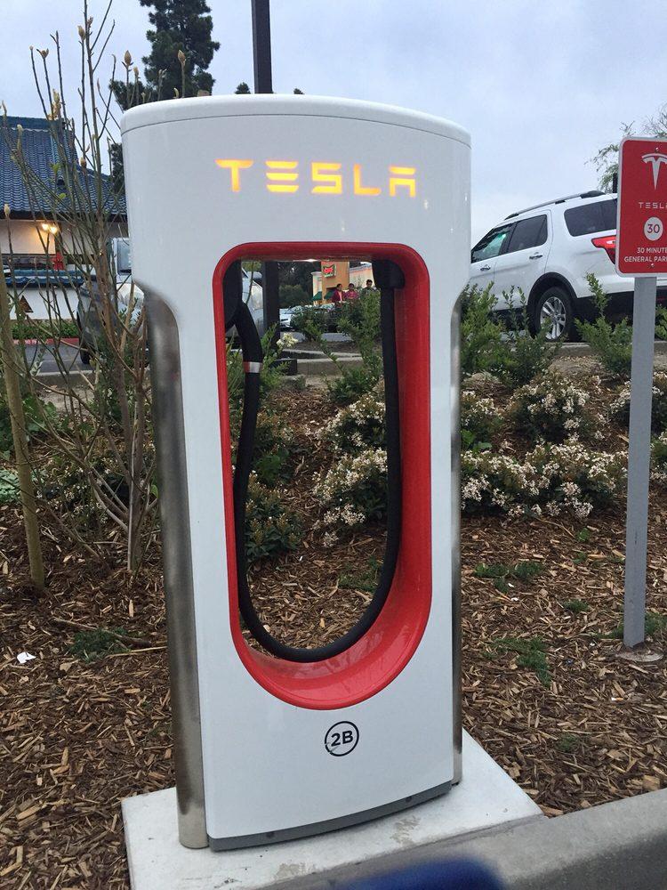 Tesla Supercharger: 2001 Diamond Blvd, Concord, CA