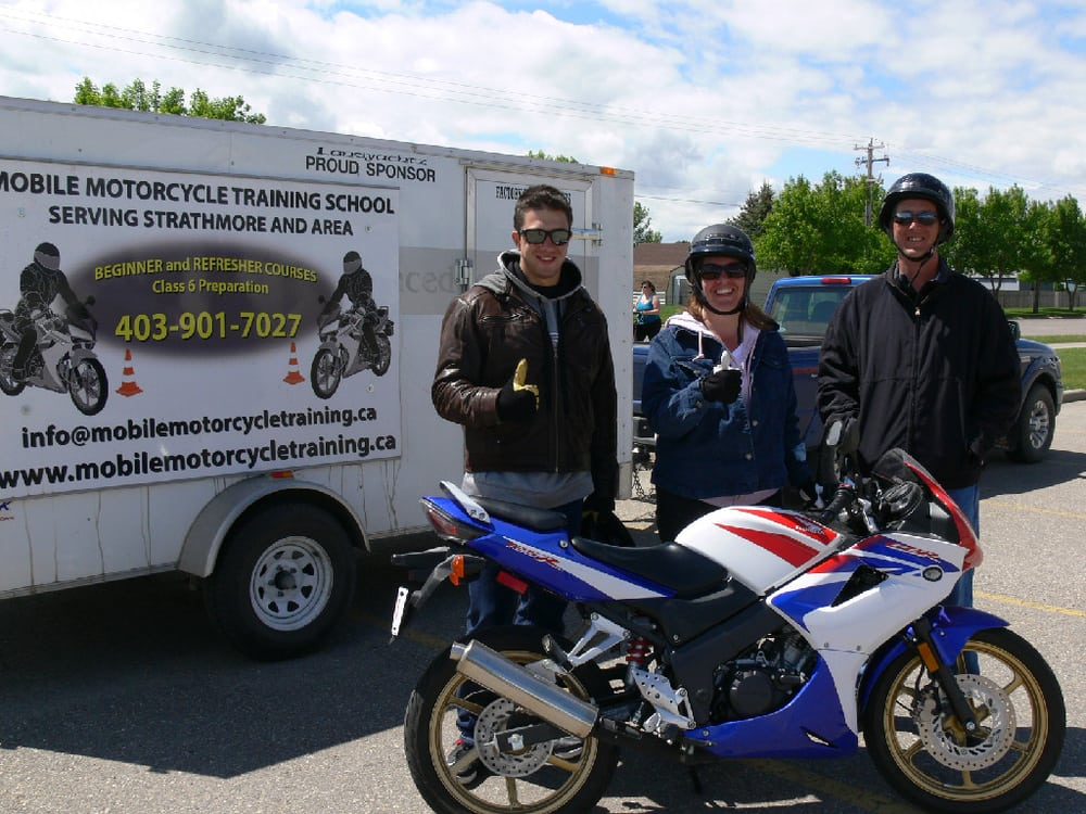 Mobile Motorcycle Training School Driving Schools 220 Wheatland Trail Strathmore Ab