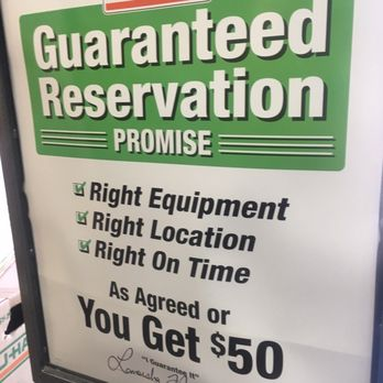 u haul reservations