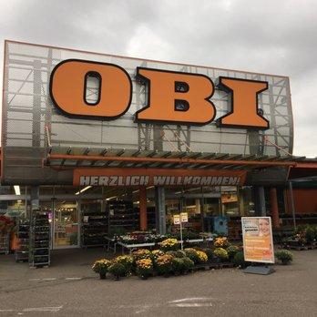 Obi Baumarkt Baustoffe Steinbeisstr 12 Ludwigsburg Baden