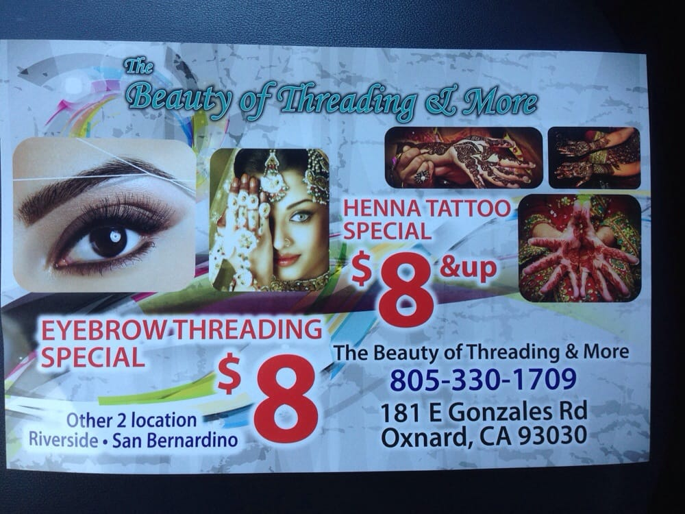 The Beauty Of Threading More 26 Reviews Threading Services