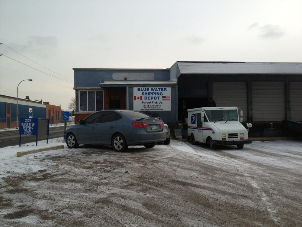 Bluewater Shipping Depot: 2126 Lapeer Ave, Port Huron, MI