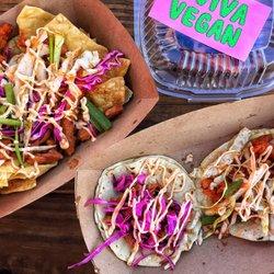 Photo Of Viva Vegan Little Rock Ar United States Loaded Nachos