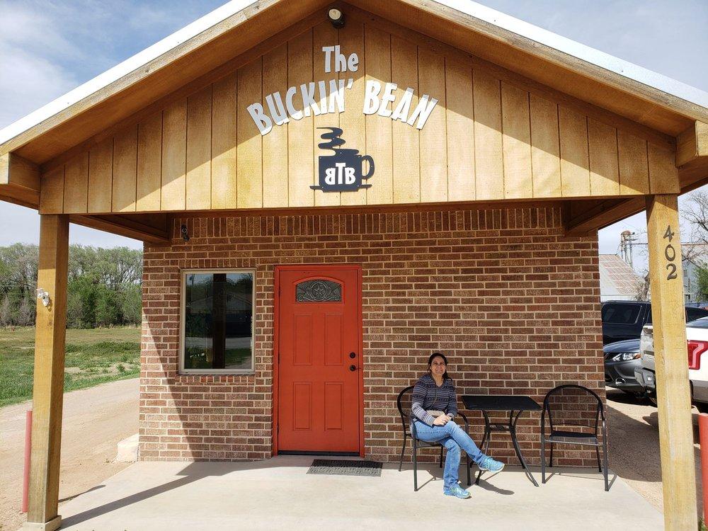 The Buckin' Bean: 402 W 2nd St, Clarendon, TX