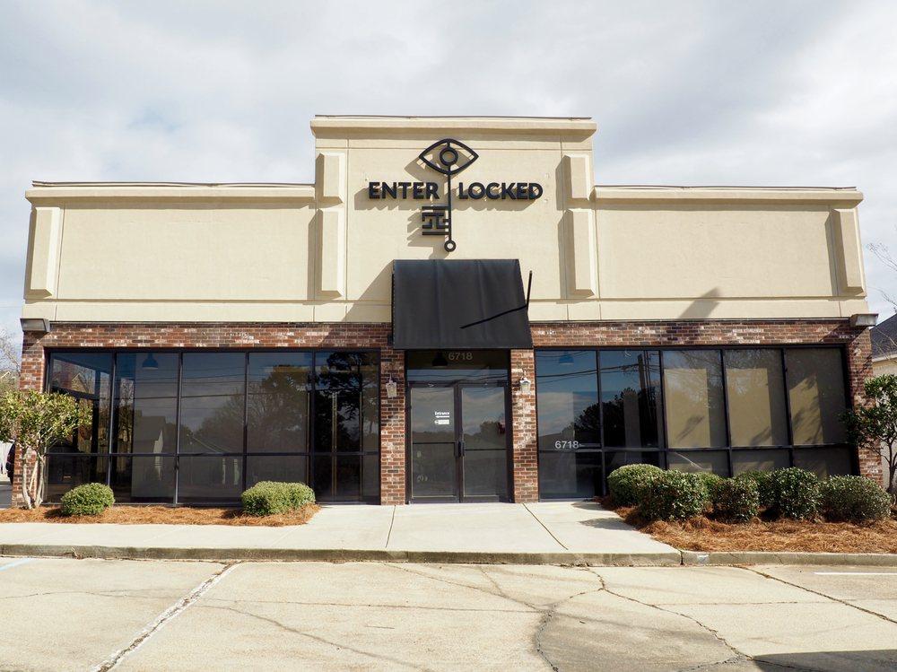 Enter Locked Escape Rooms: 6718 Old Canton Rd, Ridgeland, MS
