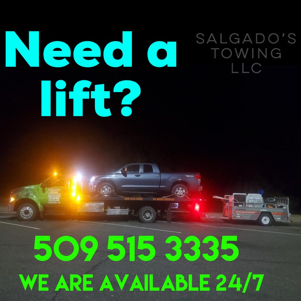 Towing business in Grandview, WA