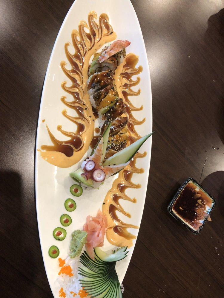 Food from Shogun Japanese Grill & Sushi Bar