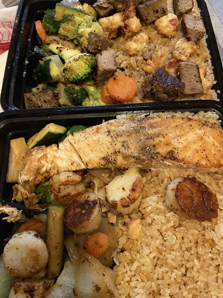 Food from Benihabachi Grill